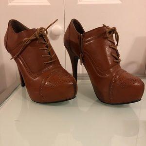 Charlotte Russe Bootie Heels